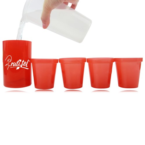 Can Cup Set With Bottle Opener