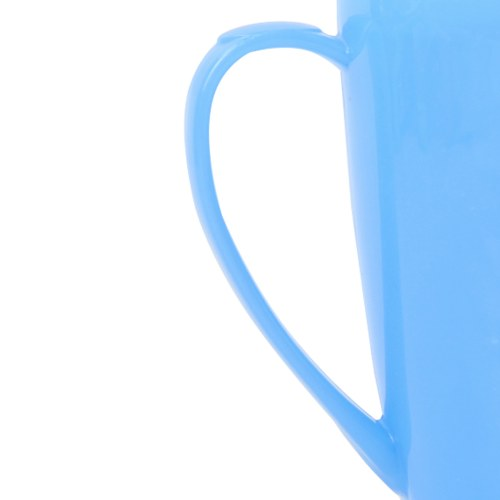 Tapered Plastic Mug With Lid Image 7