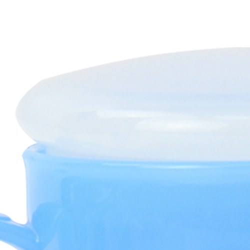 Tapered Plastic Mug With Lid Image 8