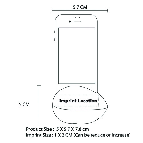 iPhone Amplifier Egg Speaker Stand