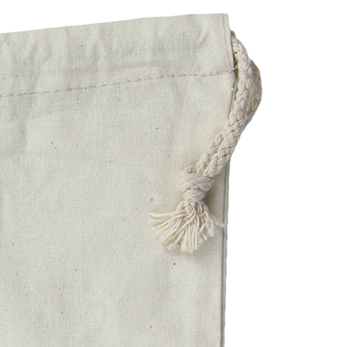 Natural Cotton Drawstring Shoe Bag Image 5