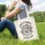 Beautiful Reusable Cotton Tote