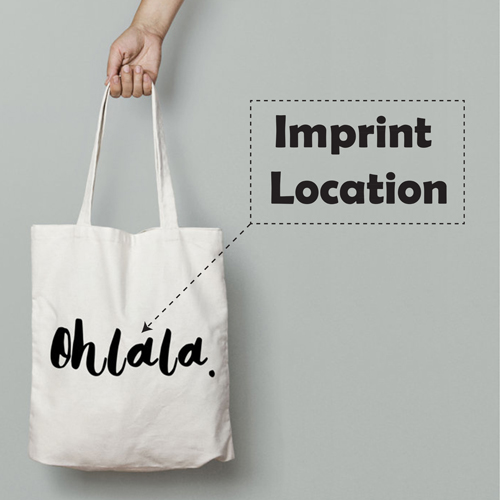 Beautiful Reusable Cotton Tote Imprint Image
