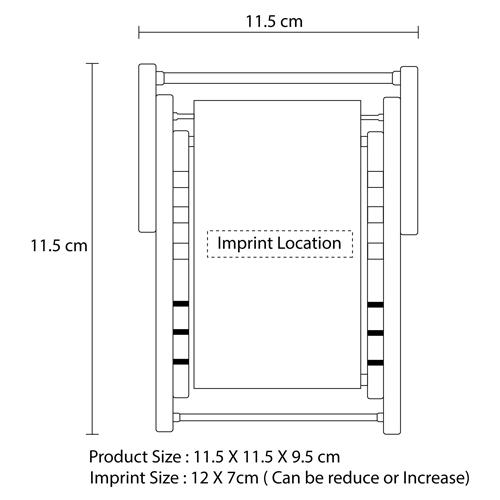 Folding Chair Gadget Holder Stand