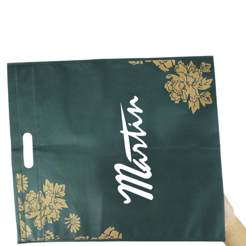 Die-Cut  Handle Flower Bag
