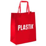 Soft Ribbon Handled Shopping Bag