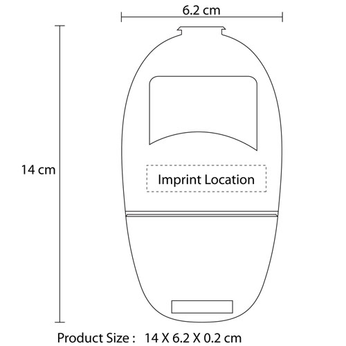 Mobile Phone Soft Foldable Seat Imprint Image
