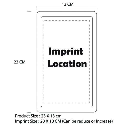 Rectangular Cold Hot Packs Imprint Image