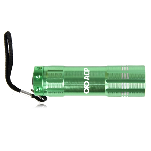 9 LED Aluminum Alloy Torch Image 1