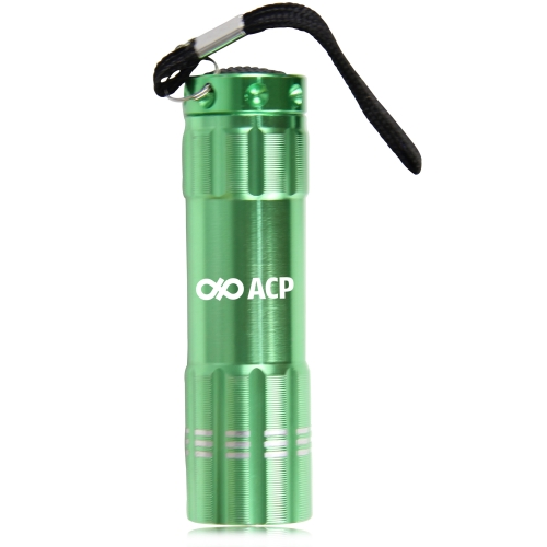 9 LED Aluminum Alloy Torch Image 2