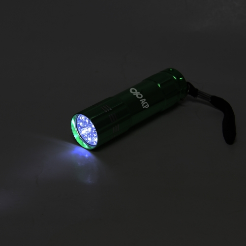 9 LED Aluminum Alloy Torch Image 3