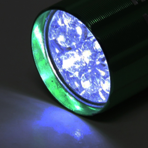 9 LED Aluminum Alloy Torch Image 6