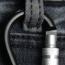 Aluminum Locking Clip Carabiner Keyring
