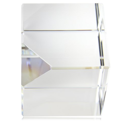 Square Cube Crystal Paperweight