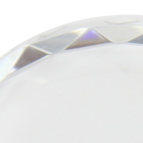 Round Crystal Paper Weight