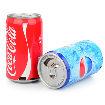 Drink Can Shaped Mp3 Speaker Radio