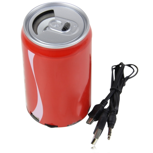 Drink Can Shaped Mp3 Speaker Radio Image 4