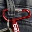Mini Carabiner Aluminum  Flashlight Light