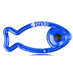 Fish Shaped Carabiner Flashlight