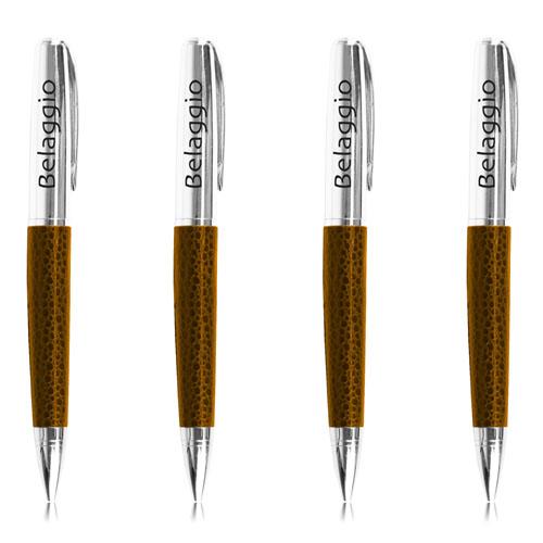 Executive Leather Twist Ballpoint Pen