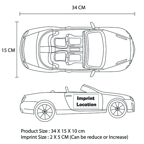 Bentley Convertible RC Car