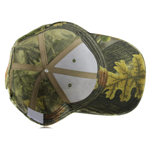 Camouflage Baseball Cap Image 2