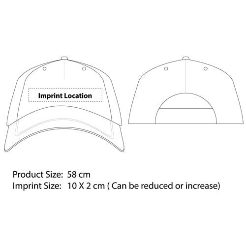 Camouflage Baseball Cap Imprint Image