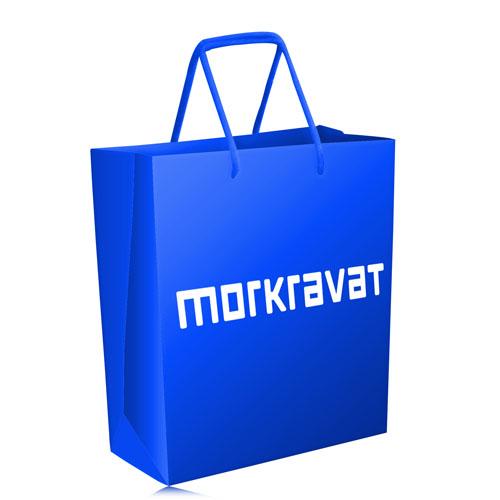 Thread Handle Paper Shopping Bag