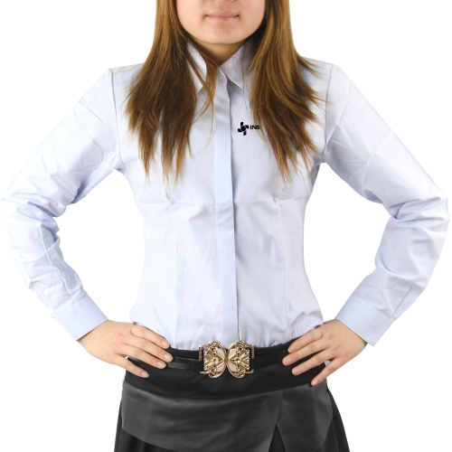 Long Sleeves Women Dress Shirt Image 3