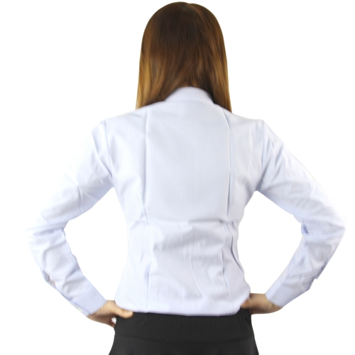 Long Sleeves Women Dress Shirt Image 5