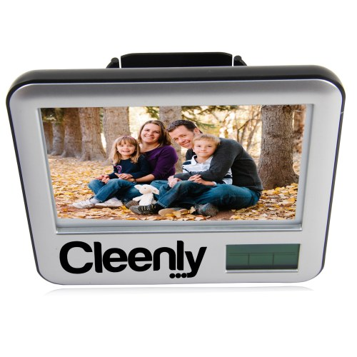 Pen Holder Photo Frame Clock Image 12
