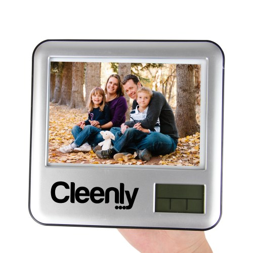 Pen Holder Photo Frame Clock Image 4