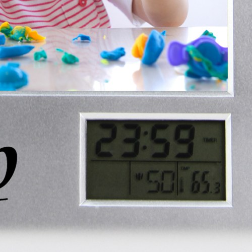 Pen Organizer Photo Frame Clock