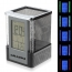 Square Color LED Calendar Pen Holder