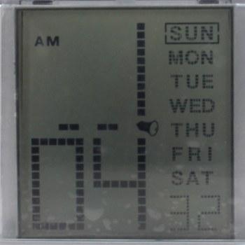 Multi Color Calendar Clock Pen Holder