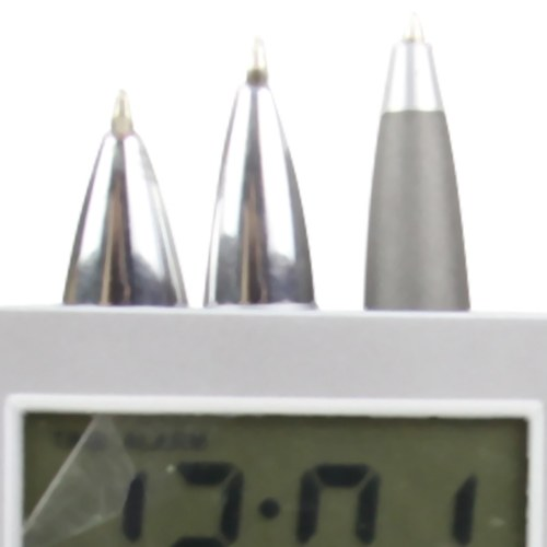 All In One Digital Clock Pen Holder