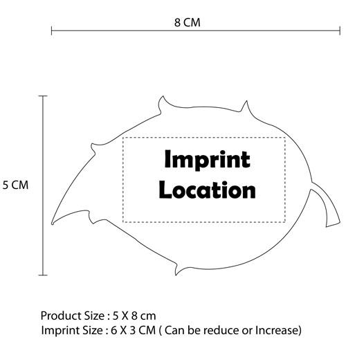 Custom Shape Fridge Magnet Imprint Image