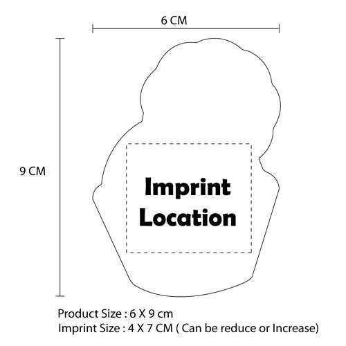 Custom Logo Fridge Magnet