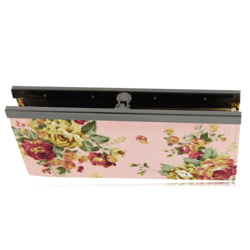 Elegant Flower Cash And Cards Hand Clutch