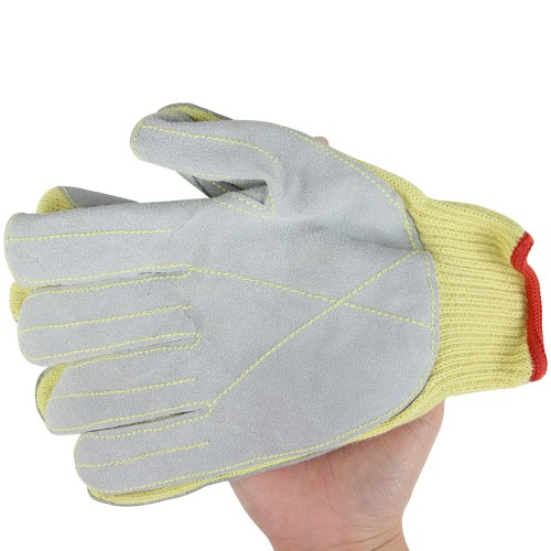 Kevlar Leather Palm Cut Gloves