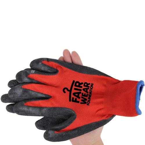 Nylon Latex Hand Work Gloves
