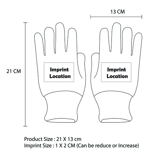 Cleaning Workwear Gloves Imprint Image