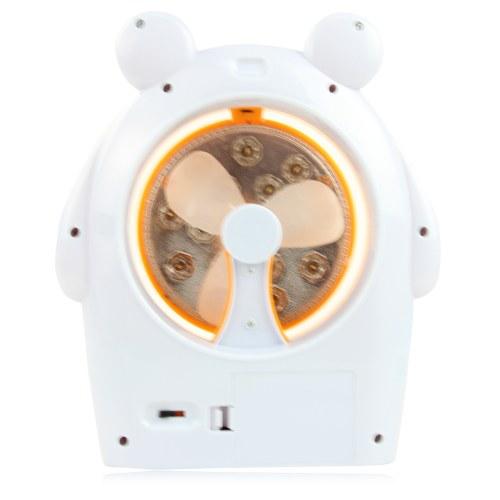 Multifunctional Closure Light USB Fan