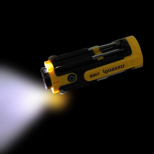 Sharper Eight Screwdriver LED Torch