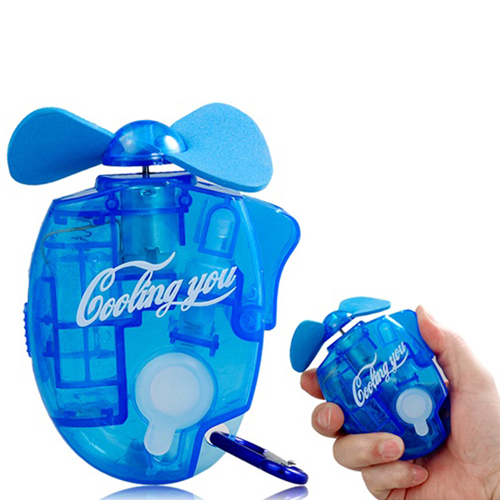 Water Spray Fan With Carabiner