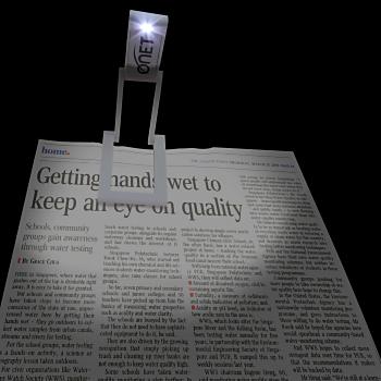 Folding Flat LED Clip Book Light