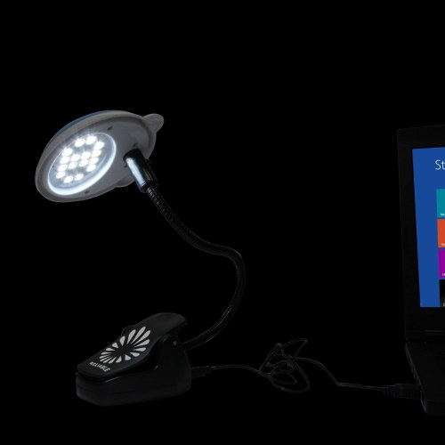 USB 16 LED Clip Book Light