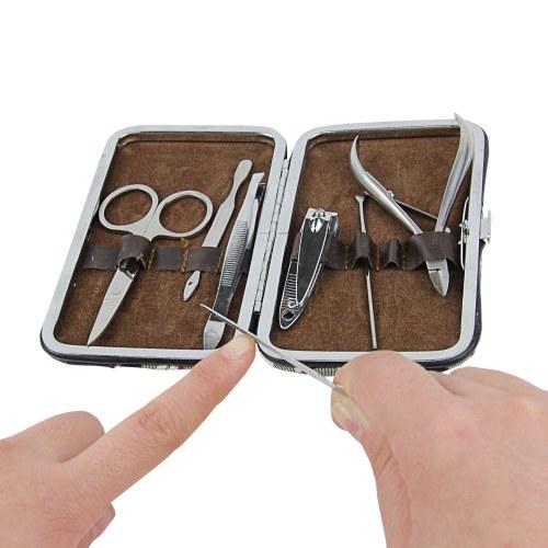 7 Piece Manicure Set With Case