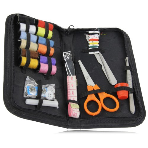 Manicure Sewing Kit With Zipper Case Image 2
