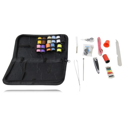 Manicure Sewing Kit With Zipper Case